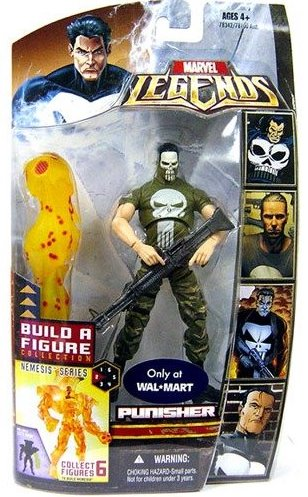 Marvel Legends Nemesis Series Punisher (Masked Variant)