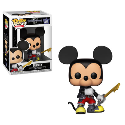 Funko Pop! Games Mickey Mouse Stock