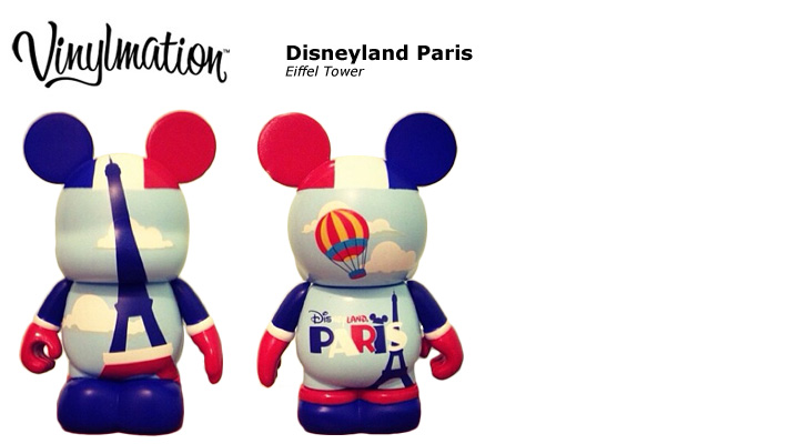 Vinylmation Open And Misc Exclusives Eiffel Tower