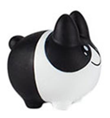 Kid Robot Labbit Packs Labbit & Littons: Black & White Litton Icon