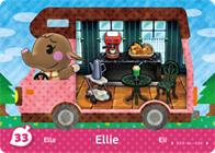 Amiibo Cards Welcome amiibo Ellie