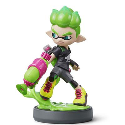 Amiibo Splatoon Inkling Boy (Green) Icon