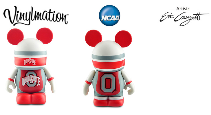 Vinylmation Open And Misc College The Ohio State Buckeyes