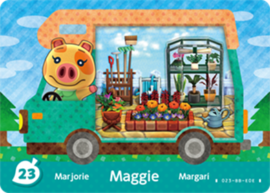 Amiibo Cards Welcome amiibo Maggie Icon