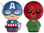 Dorbz Marvel Captain America / Red Skull