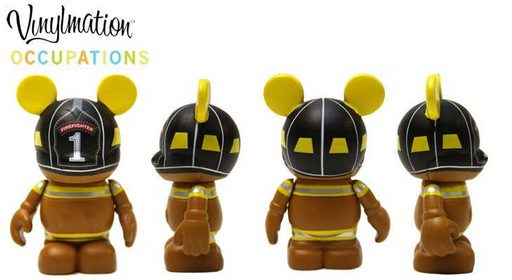 Vinylmation Open And Misc Occupations Fire Fighter