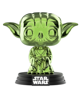Funko Pop! Star Wars Yoda (Green Chrome)