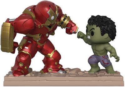 Funko Pop! Marvel Hulkbuster vs. Hulk