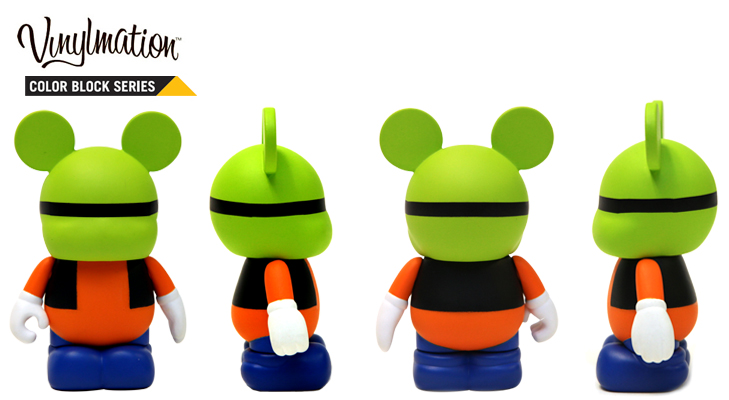 Vinylmation Open And Misc Color Block Goofy