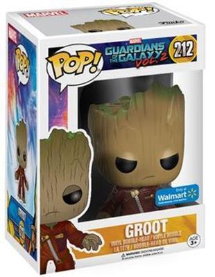 Funko Pop! Marvel Groot (Red Jacket) Stock Thumb