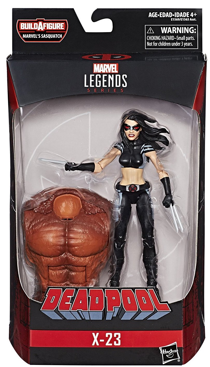 Marvel Legends Sasquatch Series X-23