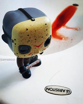 Funko Pop! Movies Jason Voorhees jammasterpops on instagram.com