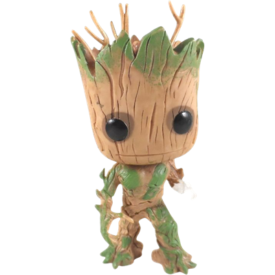 Funko Pop! Marvel Groot (Glow)