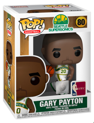 Funko Pop! Sports Gary Payton (Sonics Home Jersey) Stock