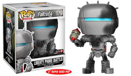 Funko Pop! Games Liberty Prime (Battle Damaged) Stock