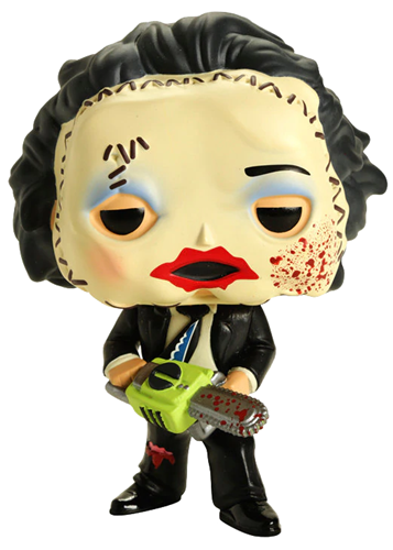 Funko Pop! Movies Leatherface (Pretty Woman Mask) - Bloody Chase Icon