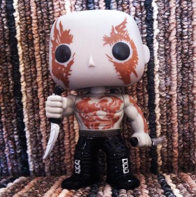 Funko Pop! Marvel Drax jammasterpops on instagram.com