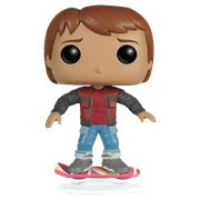 Funko Pop! Movies Marty McFly (Hoverboard)