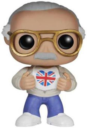 Funko Pop! Stan Lee Stan Lee (British Flag)