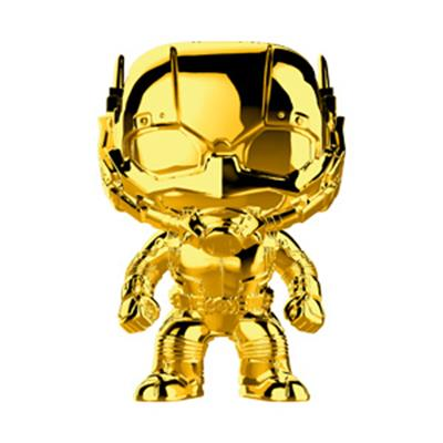 Funko Pop! Marvel Ant-Man (Gold Chrome)