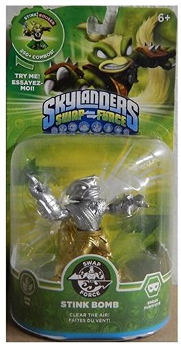 Skylanders Swap Force Stink Bomb (Gold/Silver) Stock Thumb