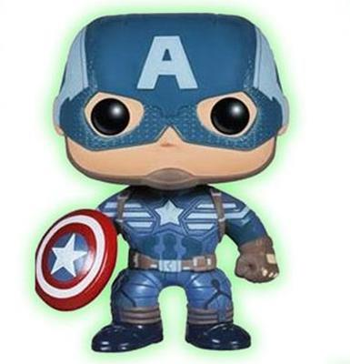 Funko Pop! Marvel Captain America (Winter Soldier) (Glow in the Dark)