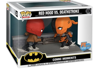 Funko Pop! Heroes Red Hood Vs. Deathstroke Stock