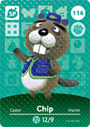 Amiibo Cards Animal Crossing Series 2 Chip