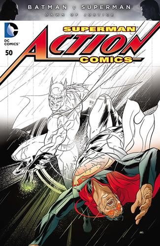 DC Comics Action Comics (2011 - 2016) Action Comics (2011) #50C Stock