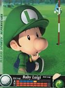 Amiibo Cards Mario Sports Superstars Baby Luigi - Golf