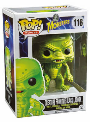 Funko Pop! Movies Creature From the Black Lagoon (Metallic) Stock