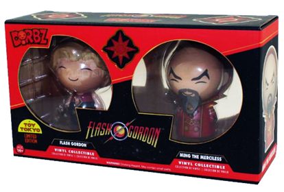 Dorbz Movies Flash Gordon & Ming the Merciless (2-Pack) Stock