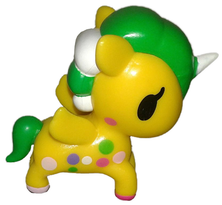 Tokidoki Neon Star Series 4 Mellow Yellow