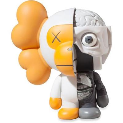 KAWS Sculptures Baby Milo Dissected Yellow