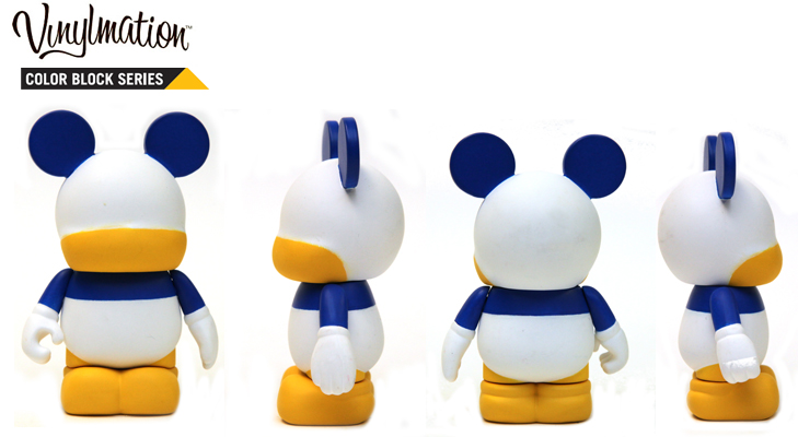 Vinylmation Open And Misc Color Block Donald