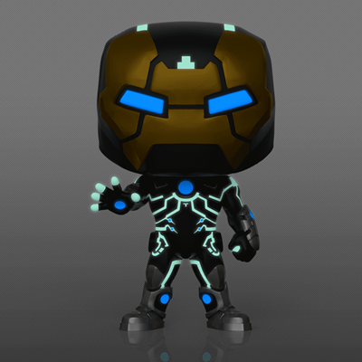 Funko Pop! Marvel Iron Man Model 39 (Glow in the Dark)