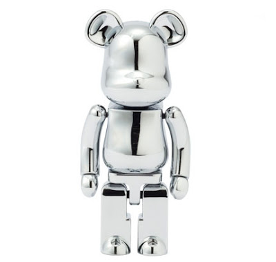 Be@rbrick Misc Black Sense Market (Stainless Steel) 1000%
