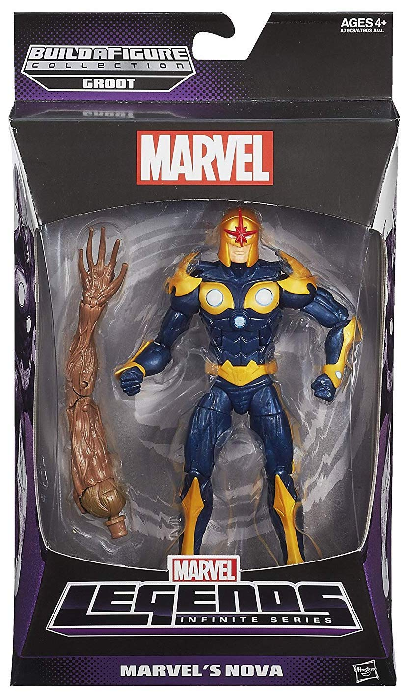 Marvel Legends Groot Series Nova