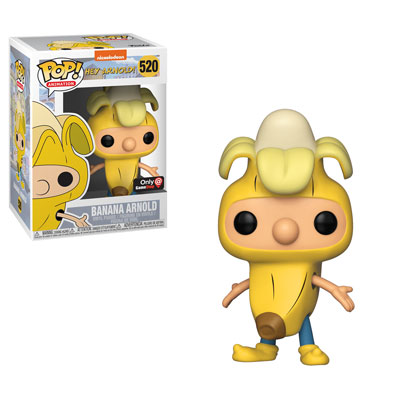 Funko Pop! Animation Arnold Shortman (Banana) Stock