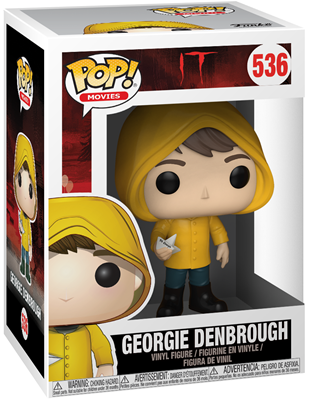 Funko Pop! Movies Georgie Denbrough Stock