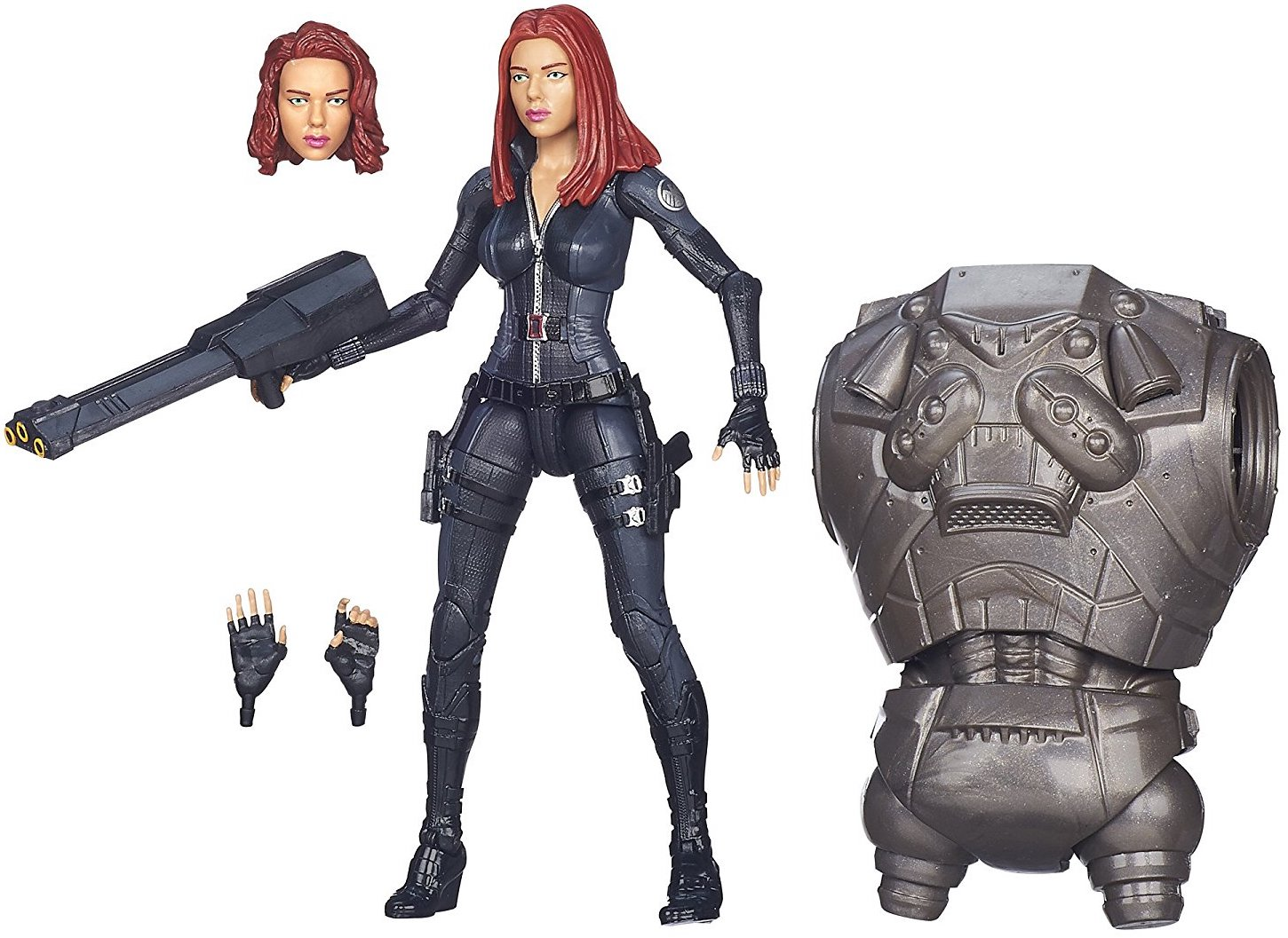 Marvel Legends Mandroid Series Black Widow Stock