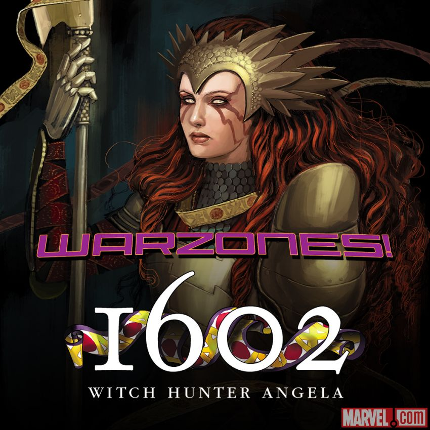 Marvel Comics 1602 Witch Hunter Angela (2015)