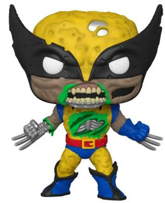 Funko Pop! Marvel Zombie Wolverine (10 Inch) Icon
