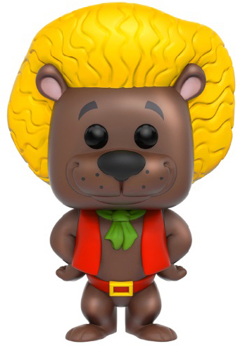 Funko Pop! Animation Hair Bear (Brown) Icon