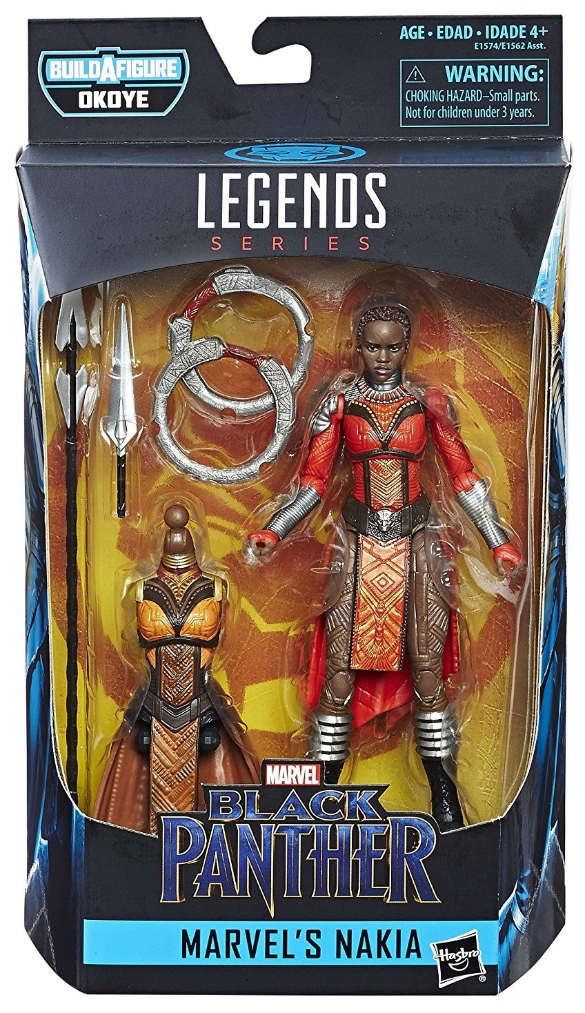 Marvel Legends Okoye Nakia