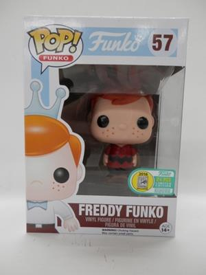 Funko Pop! Freddy Funko Charlie Brown (Red Shirt) Stock