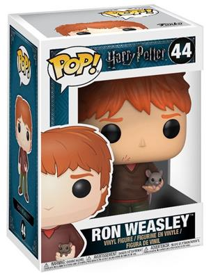 Funko Pop! Harry Potter Ron Weasley (w/ Scabbers) Stock