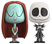 Vynl All Sally + Jack Skellington