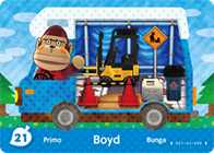 Amiibo Cards Welcome amiibo Boyd