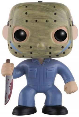 Funko Pop! Movies Jason Voorhees (Blue Jumpsuit) Icon